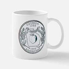 Georgia State Quarter Mug