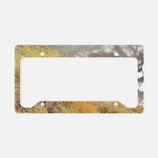 Wild Lion License Plate Holder
