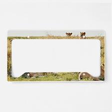 Wild Lion License Plate Holder
