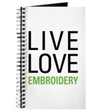 Live Love Embroidery Journal