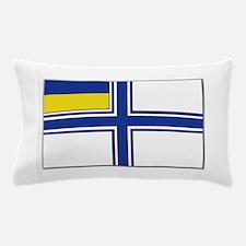 Flag of Ukraine Naval Ensign Pillow Case