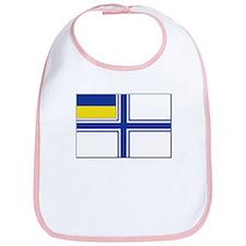 Flag of Ukraine Naval Ensign Bib