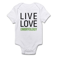 Live Love Embryology Infant Bodysuit