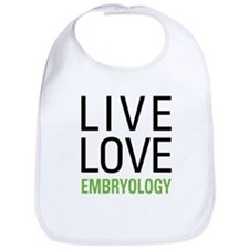 Live Love Embryology Bib