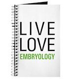 Embryology Journals & Spiral Notebooks