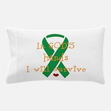 In Gods hands Pillow Case