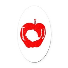 Adorable Oval Car Magnet