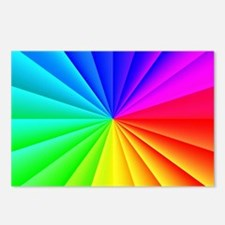 Rainbow Style Postcards (Package of 8)