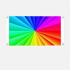 Rainbow Style Banner