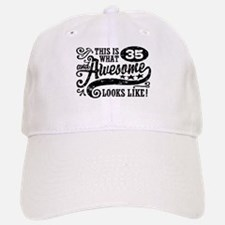 35th Birthday Baseball Baseball Cap