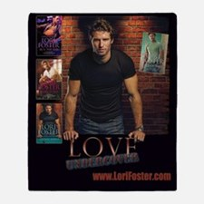 Love Undercover / Buckhorn Bookcover Throw Blanket