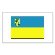 Flag of Ukrainian Trident Decal