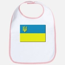 Flag of Ukrainian Trident Bib
