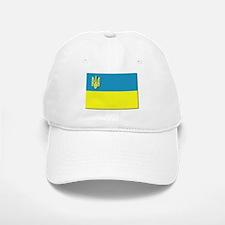 Flag of Ukrainian Trident Baseball Baseball Cap