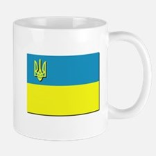 Flag of Ukrainian Trident Mug