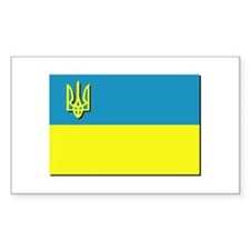 Flag of Ukrainian Trident Decal