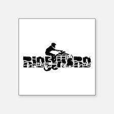 """ATV Ride Hard Square Sticker 3"""" x 3"""""""