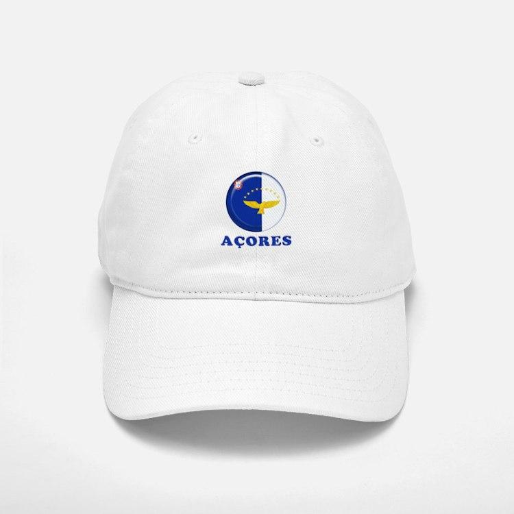 Azores islands flag Baseball Baseball Cap