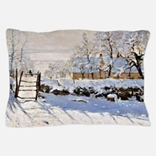 Claude Monet - The Magpie Pillow Case