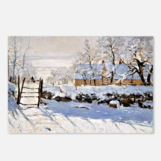 Claude Monet - The Magpie Postcards (Package of 8)