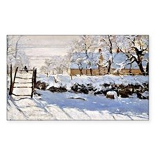 Claude Monet - The Magpie Decal