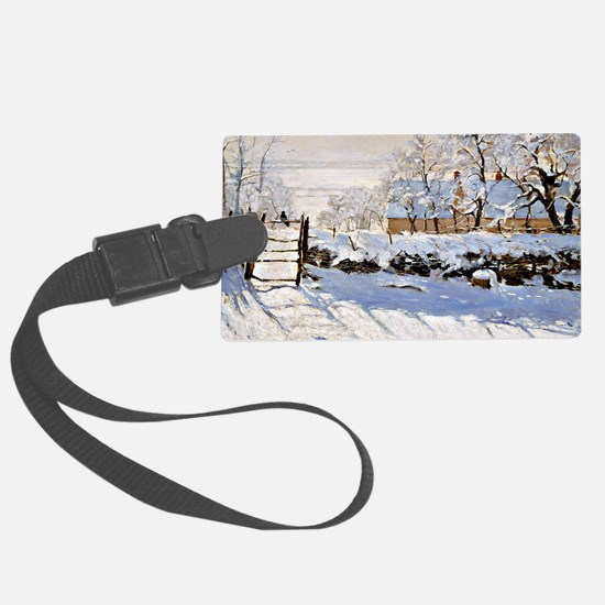 Claude Monet - The Magpie Luggage Tag