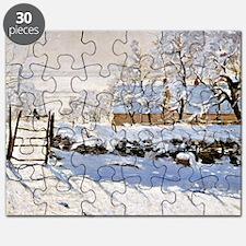 Claude Monet - The Magpie Puzzle