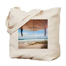 Let's Go Surfing Tote Bag