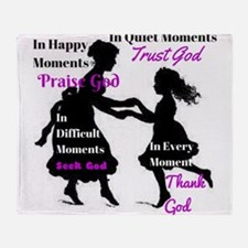 Every Moment Throw Blanket