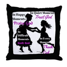 Every Moment Throw Pillow