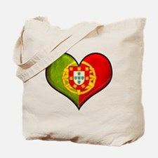 Portuguese heart Tote Bag