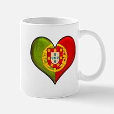Portuguese heart Mug