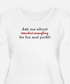 Administrative Assistant Women's Plus T-Shirt