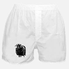 Black Ram Boxer Shorts