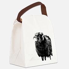 Black Ram Canvas Lunch Bag