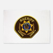Cache County Sheriff 5'x7'Area Rug