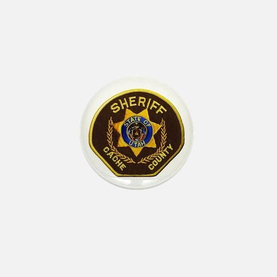 Cache County Sheriff Mini Button
