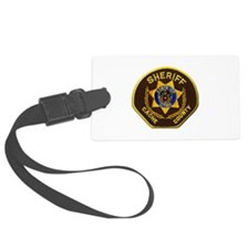 Cache County Sheriff Luggage Tag