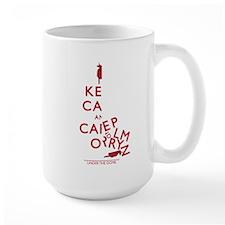 Keep Calm And Half A Cow Mugs