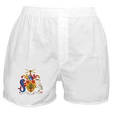 Barbados Coat Of Arms Boxer Shorts