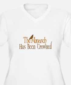 The Monarch has been Crowned Plus Size T-Shirt