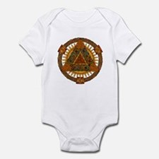 Celtic Pyramid Mandala Infant Bodysuit