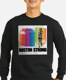 Marathon Boston Strong Long Sleeve T-Shirt