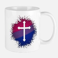 Bisexual Pride Cross Small Small Mug