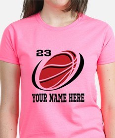 Personalized Basketball T-Shirt For Girls Team