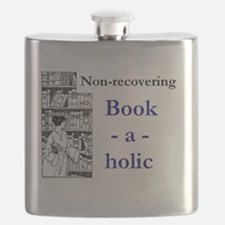 Non-recovering Book-a-holic Flask