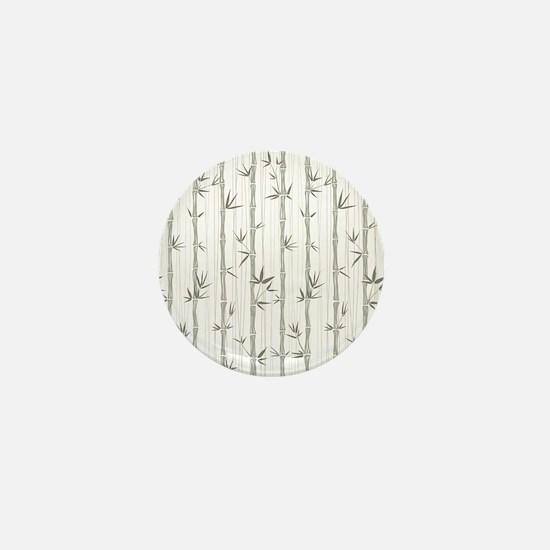 Bamboo Pattern Mini Button