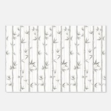 Bamboo Pattern Postcards (Package of 8)