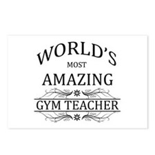 World's Most Amazing Gym Postcards (Package of 8)