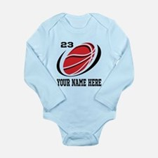 Personalized Basketball Body Suit Onesie